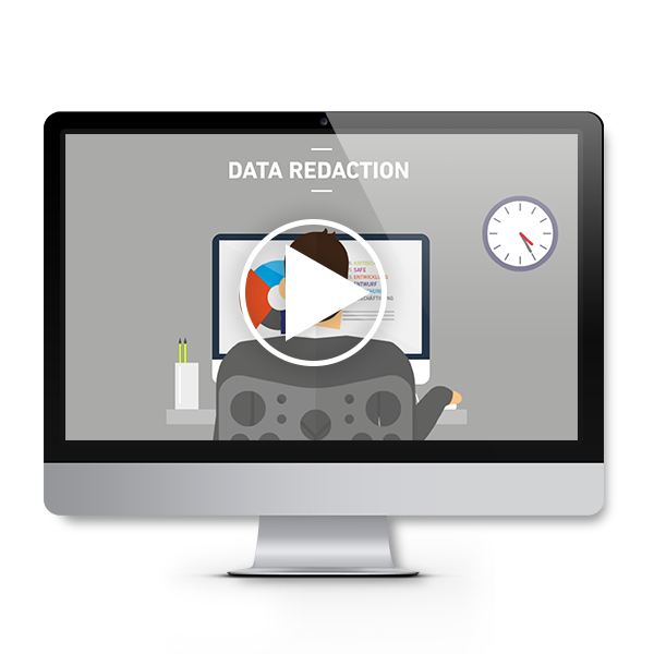 Data Redaction animation