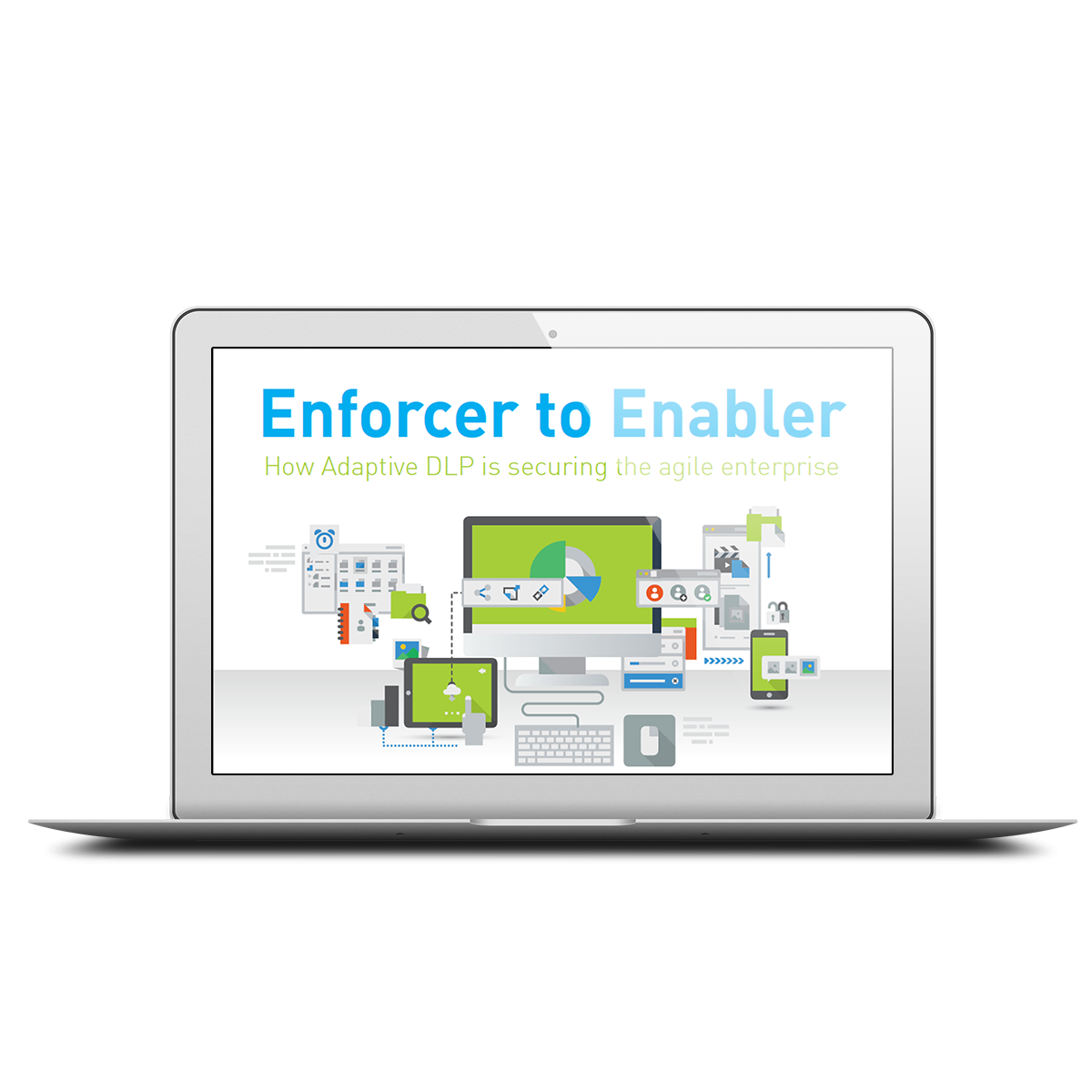 Enforcer to enabler infographic